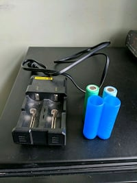 black Intellicharger 2 charger