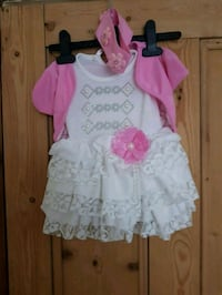 girl's white and pink dress Leicester, LE3 0QG