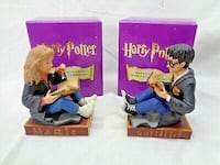 Factory Sealed Harry Potter/Hermoine Granger Book Buddy Bookend Set