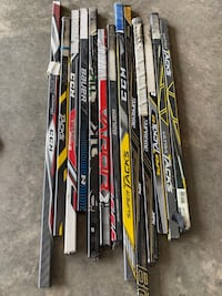 Broken Hockey Stick Shafts Bundle (approx 3 ft) Beaumont