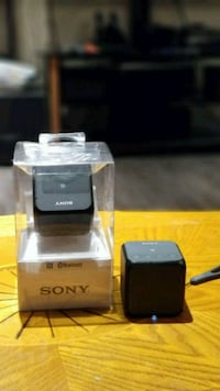 Sony Bluetooth speaker..$50  for 1pc, 75 for 2pcs Vancouver, V5P 2X5