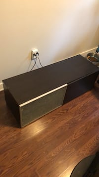 black wooden 2-drawer chest Winnipeg, R3L 0K1