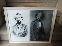 Jefferson Davis and Nathan Bedford Forest framed p Colonial Heights, 23834