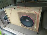 MTX subwoofer with custom box Tallahassee, 32303