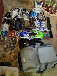 Riding gear and gear bag