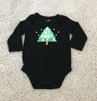 12 Month Christmas Onesie  Franklin, 37067