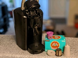 Like new office-sized Keurig - with accessories
