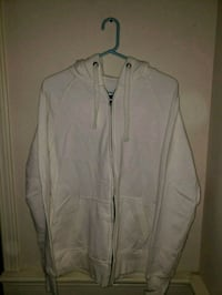 Goodfellow white zip-up jacket Vancouver, 98686