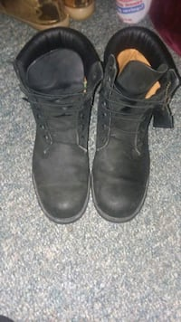 Black Waterproof Timberlands