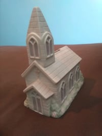 Ceramic Cathedral Coin Bank Ankeny, 50023