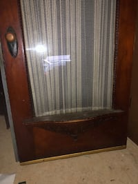 Vintage wooden glass door  Baltimore, 21223