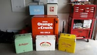 WANTING TO BUY OLD VINTAGE SODA COOLERS! North Saanich