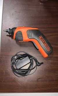 Black and decker automatic drill - battery powered with charger