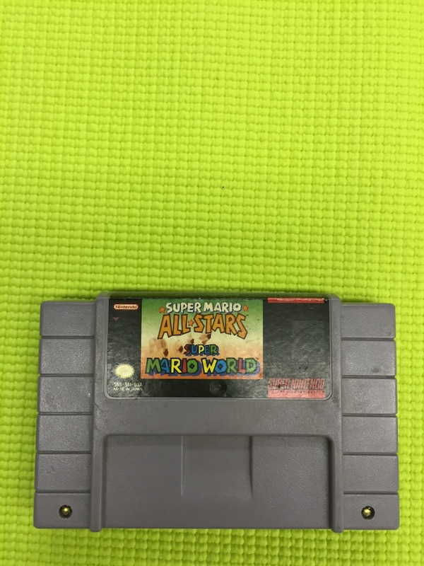 Snes super mario all stars super mario world