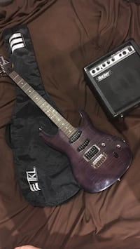 Ibanez Electric Guitar With Amp and guitar sleeve Winnipeg, R2C