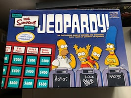 The Simpsons Jeopardy! board game