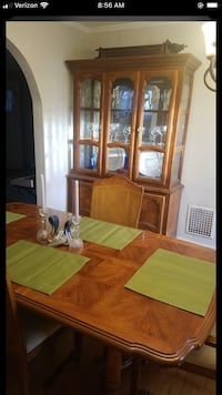 China cabinet & table with chairs  Syracuse, 13206
