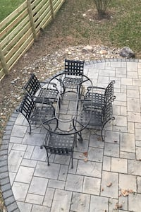 Outdoor Table and 6 chairs (no glass) Linganore, 21774