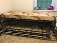 black and brown wooden bed frame Alexandria, 22311