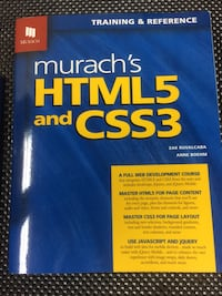 NEW HTML5 and CSS3 Book Potomac, 20854
