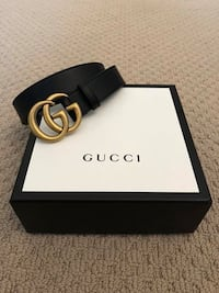Gucci Black GG Belt For Sale! Vaughan