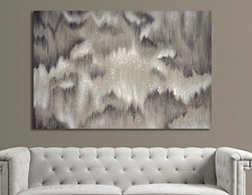Z Gallerie Pearly Haze Wall Decor