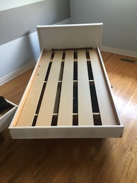 2 boys wooden beds.  Pull out drawer for storage.  $50 each Brampton, L6V 3G4