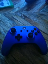 blue Xbox One wireless controller Los Angeles, 90004