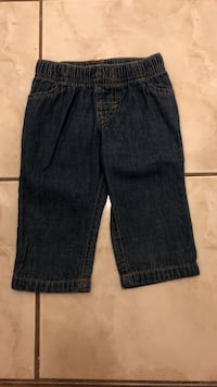 Baby boys blue denim pants