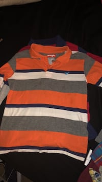 red, white, and black striped sweater Denver, 80210