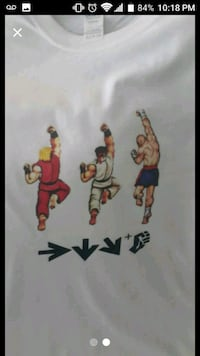 Ken Ryu and sagat t shirt Portsmouth, 23702