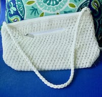 The Sexy Sak White Crochet Shoulder Bag Bethesda, MD, USA