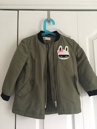 HnM Long Bomber Jacket 2-4T Laval, H7X 0B4