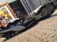 Pair of black-and-white puma cleats, Size 9.5 Thorold, L2V 0A4