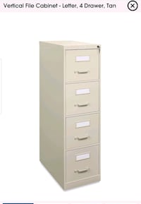 Hon 4 drawer file cabinet Sacramento, 95827