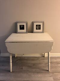 white wooden 2-drawer nightstand Gaithersburg
