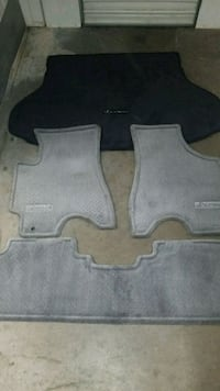 two gray car floor mats Fairfax
