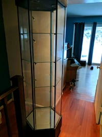 Glass Curio cabinet w/lights Gaithersburg, 20886