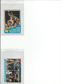 two assorted baseball trading cards Henderson