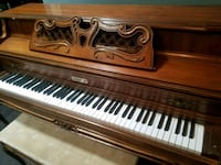 brown wooden framed upright piano Glendale, 85302