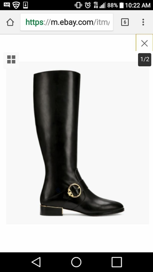 283373ffe20e Used Tory Burch Sofia Riding boots size 8.5 new in box for sale in ...