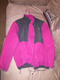 Pink North Face jacket Wendell