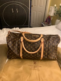 LV Louis Vuitton Brown Duffle bag really nice new  North Vancouver, V7J