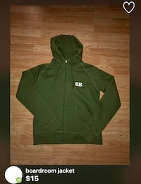 green zip-up hoodie North Vancouver, V7K 2H4