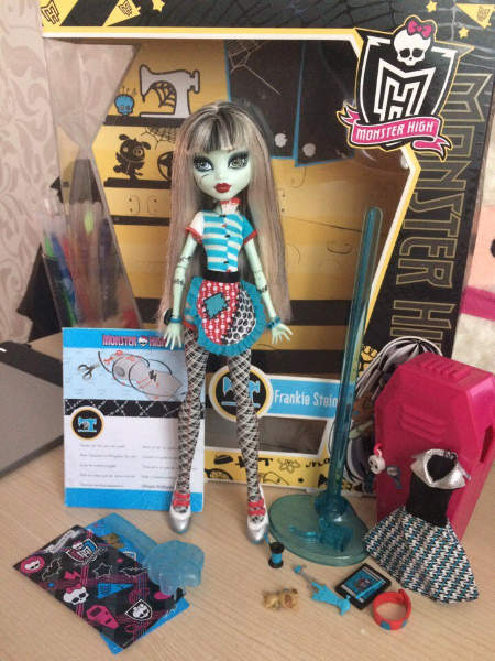 Кукла Monster High Frankie Stein MOSCOW