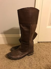 Brown Leather Boots (size:9) Athens, 35613