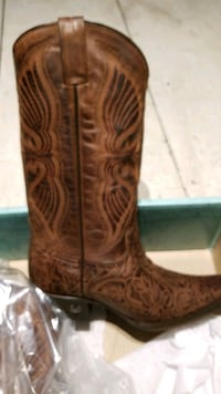Eight second Angel western boots Red Lion