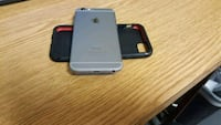 silver iPhone 6 with black case Irvine, 92614