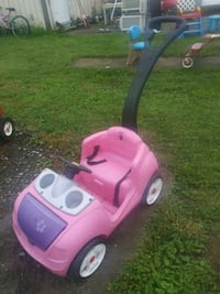 pink and purple ride on toy car Pottstown, 19464