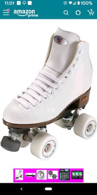 Riddell competition professional skates, size 10